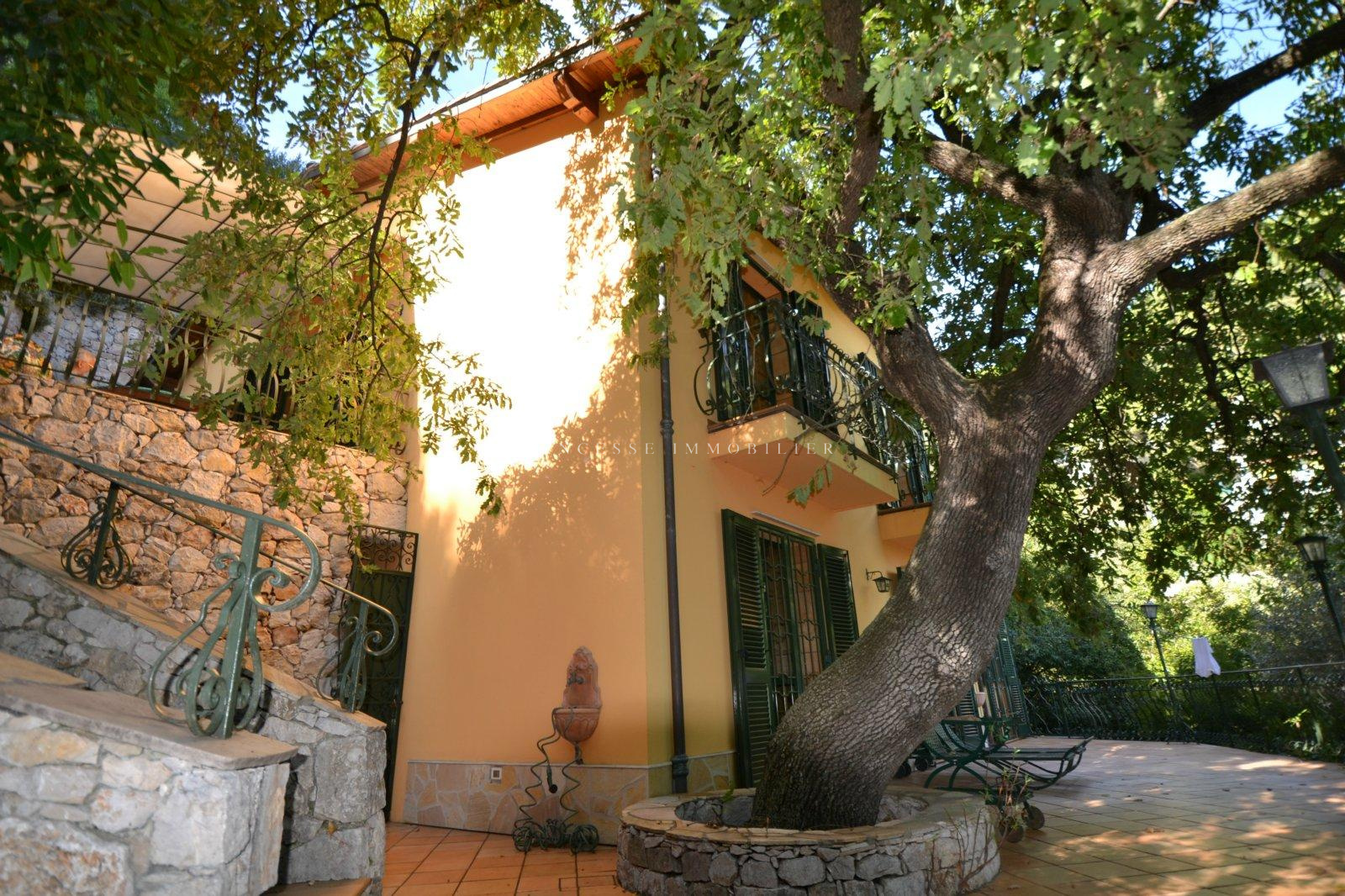 Vente villa roquebrune cap martin avec princesse immobilier for Acheter maison menton
