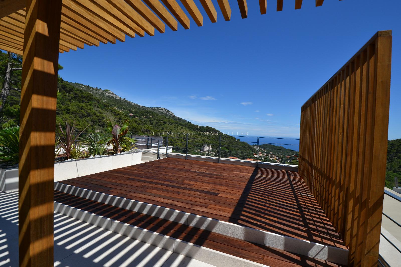 Terrasse sur toit